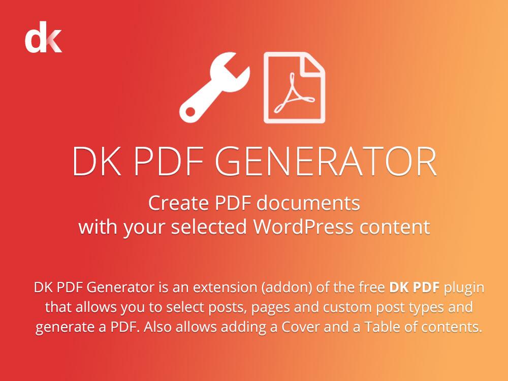 dk pdf generator wordpress plugin pro plugin directory