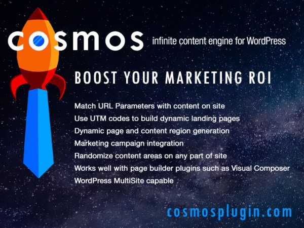 Cosmos Plugin - The Infinite Content Engine For WordPress