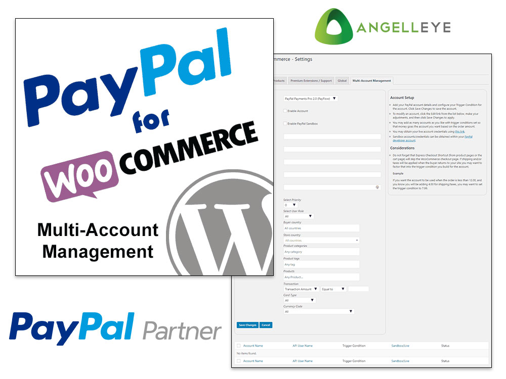 PayPal for WooCommerce by AngellEYE