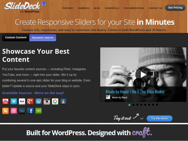 Responsive WordPress Slider