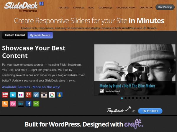 Responsive WordPress Slider