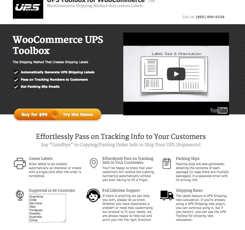 WooCommerce UPS Toolbox WordPress Plugin - Pro Plugin Directory