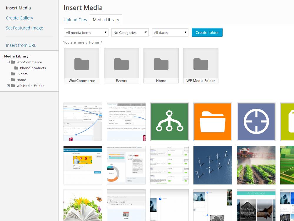 WP Media Folder WordPress Plugin - Pro Plugin Directory