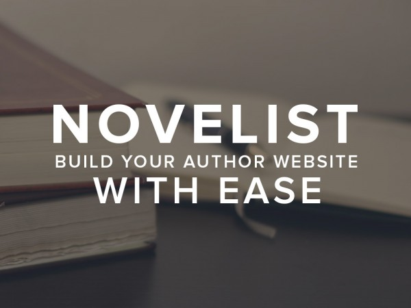 Novelist - Build your author website with ease