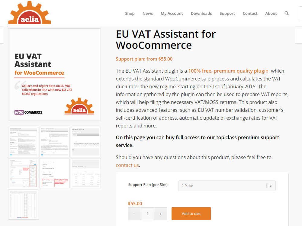 EU VAT Assistant - The most powerful plugin for EU VAT compliance