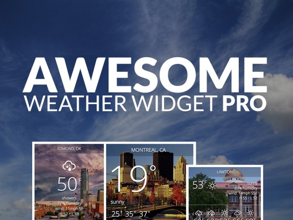 awesome-weather-widget-pro