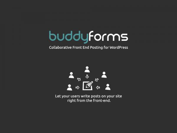 BuddyForms BuddyPress Forms WordPress Plugin