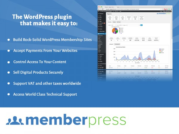 Membership WordPress Plugin - MemberPress