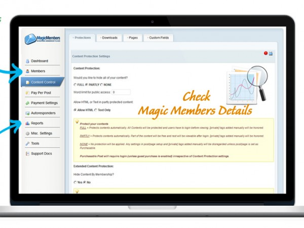 Magic Members Membership WordPress Plugin