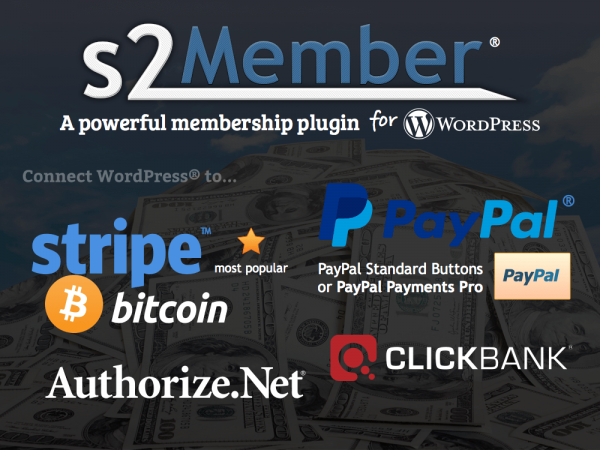 s2member Membership WordPress Plugin