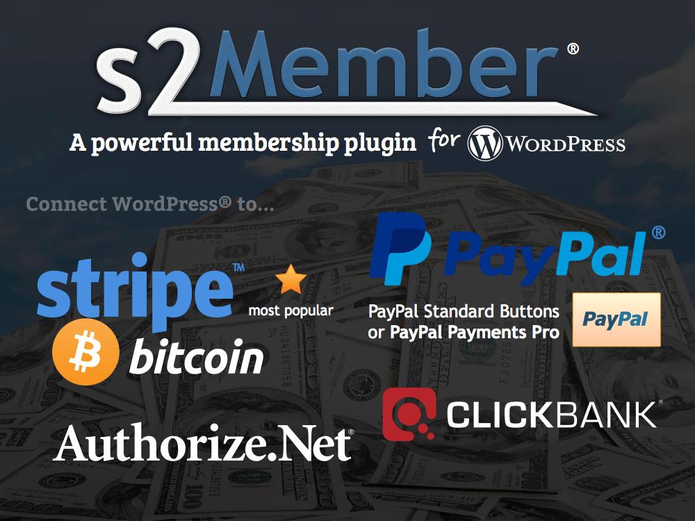 s2member Membership WordPress Plugin