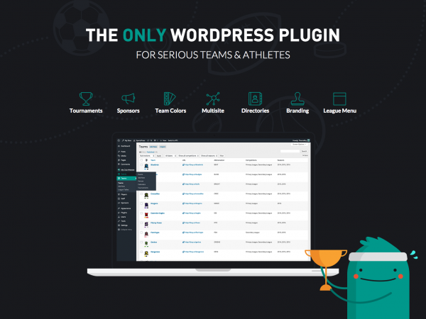SportsPress Pro Team Management WordPress Plugin