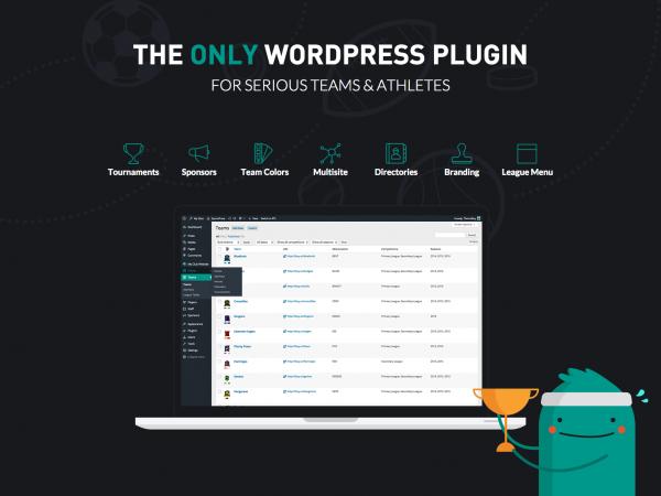 SportsPress Pro Team Management WordPress Plugin