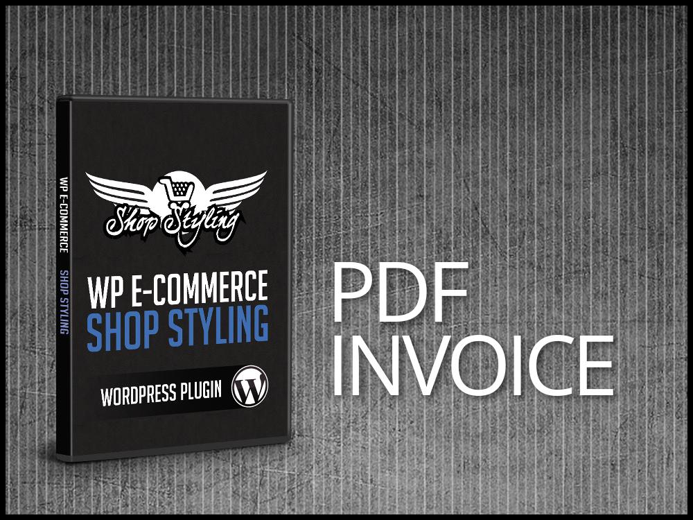 PDF Invoice For WP ECommerce WordPress Plugin Pro Plugin Directory - Invoice generator plugin for wordpress