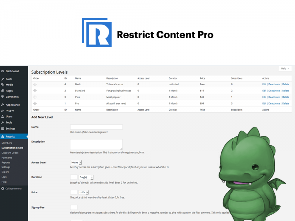 restrict-content-pro